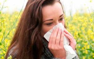 аллергический насморк весной