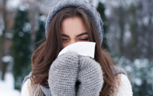 аллергический насморк зимой