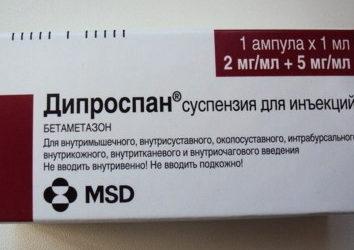 Эффективен ли дипроспан от аллергии?